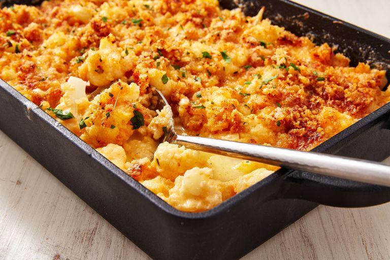 macarrones con queso para la dieta keto