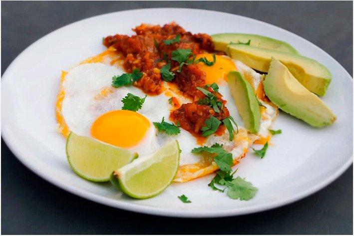 Huevos Rancheros - Dieta Keto