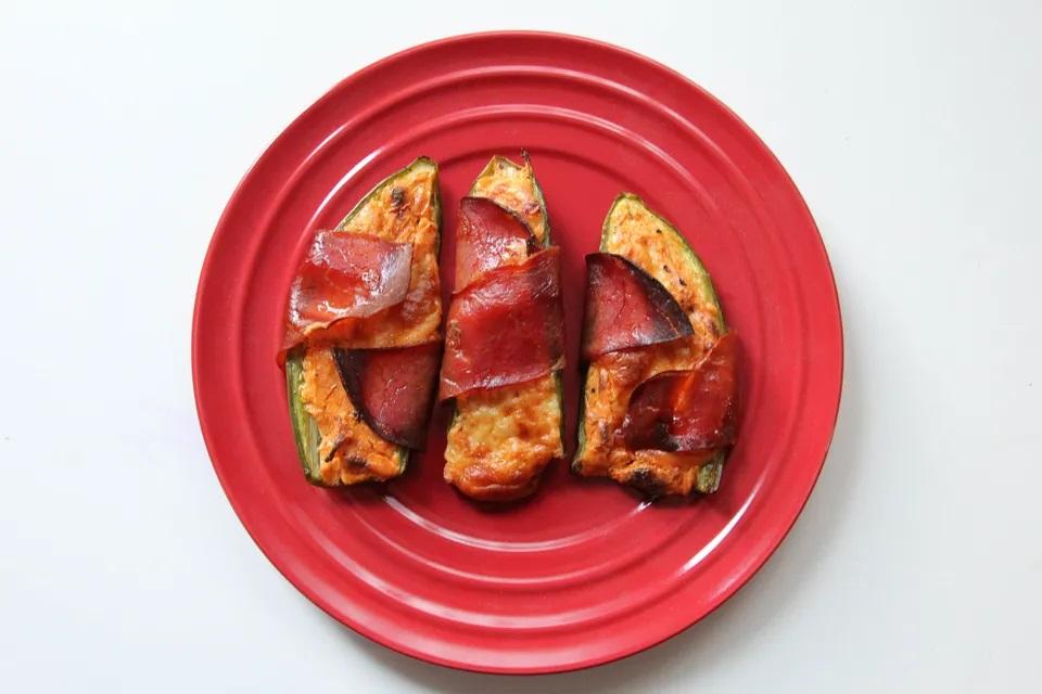 Jalapeños rellenos y envueltos españoles - dieta keto